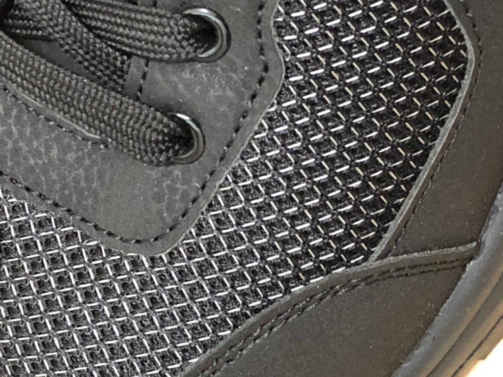 ワークマン 安全靴 ハイスペック静電セーフティシューズ SF790 2900円 表面 メッシュ