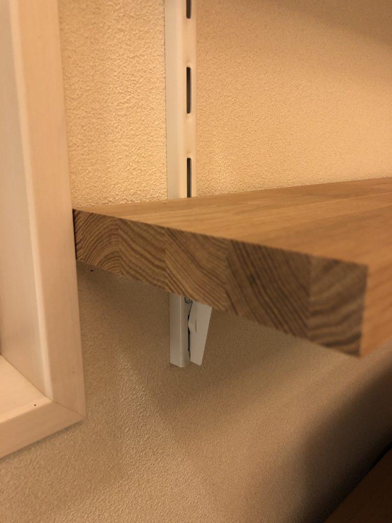 タモ材 集成材 本棚 DIY 棚板 側面