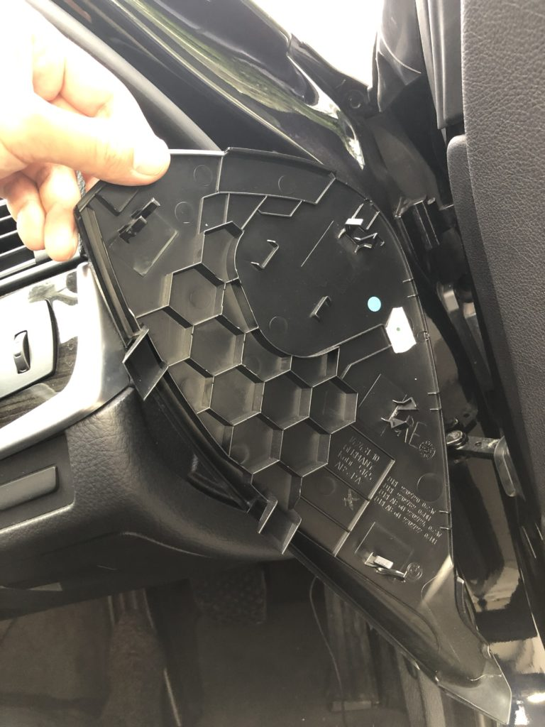 BMW 523d F10 運転席 右側面 パネル