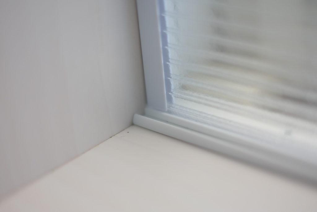 ポリカーボネート板 二重窓 光レール 寸法 ピッタリ きれいに