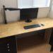 シンプルで大きい机をDIYで3,000円で作る方法 少し失敗しましたが大満足です